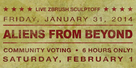 LIVE ZBrush Sculptoff! – VOTE NOW
