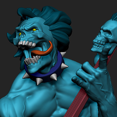 Carving a style in ZBrush