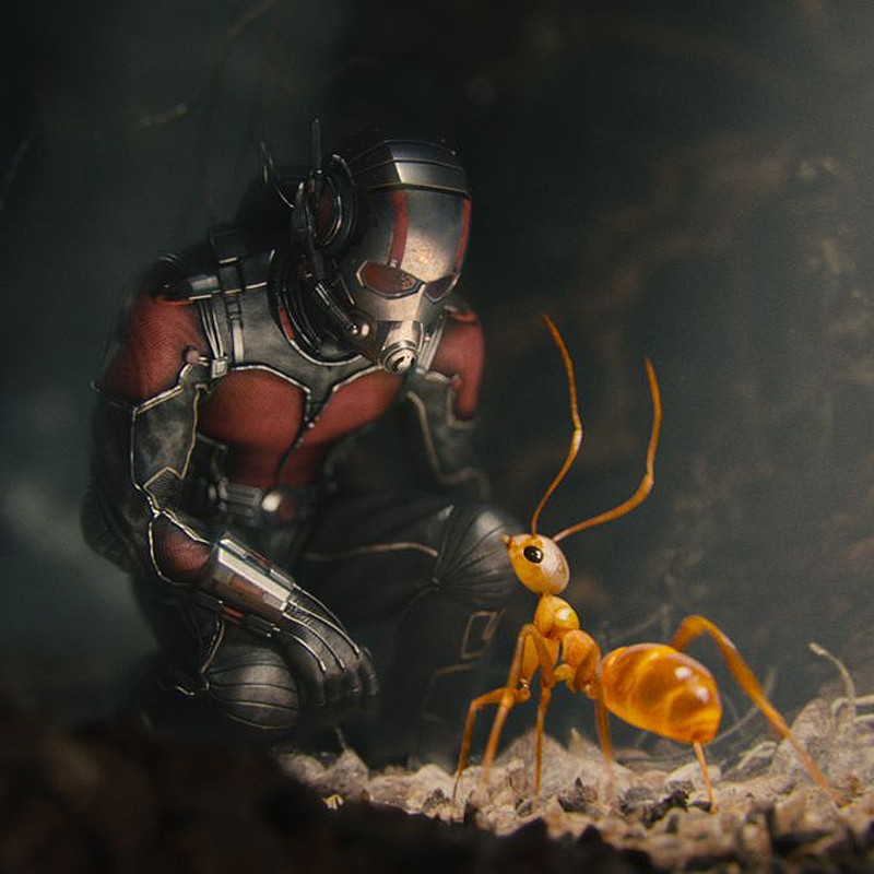 ZBrush was Used to Help Create the Ants of Marvel's Ant-Man