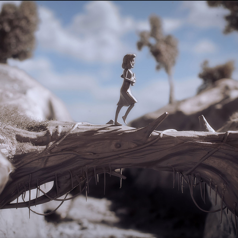 Stop Motion Film Blends CGI with 3D Printing