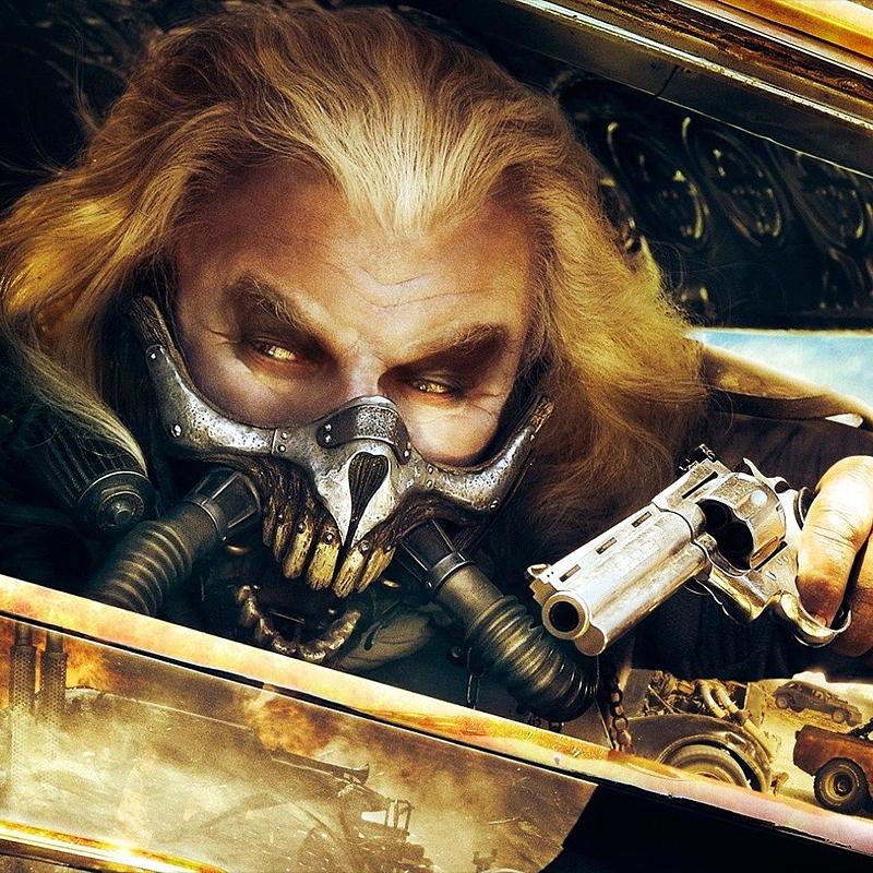 Menacing 3D Printed Mask from Mad Max: Fury Road