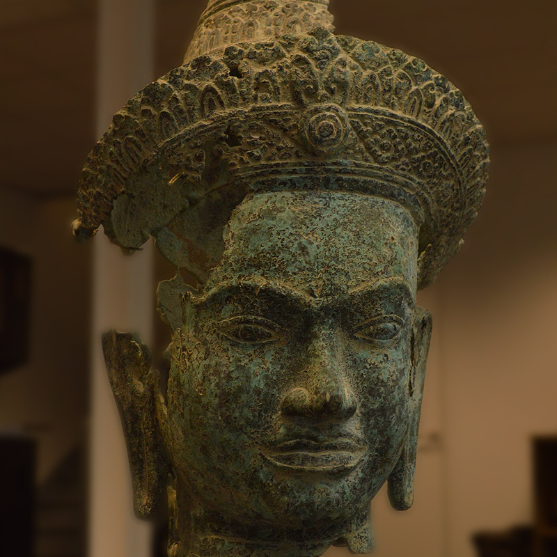 ZBrush used to reconstruct ancient Cambodian artifact