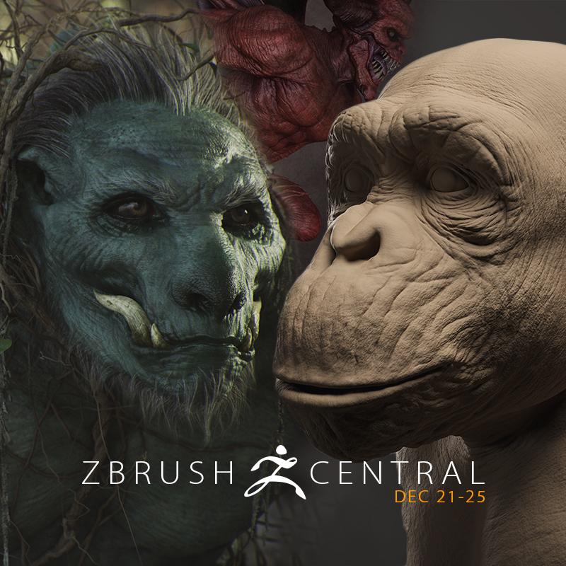 ZBrushCentral Highlights December 21-25