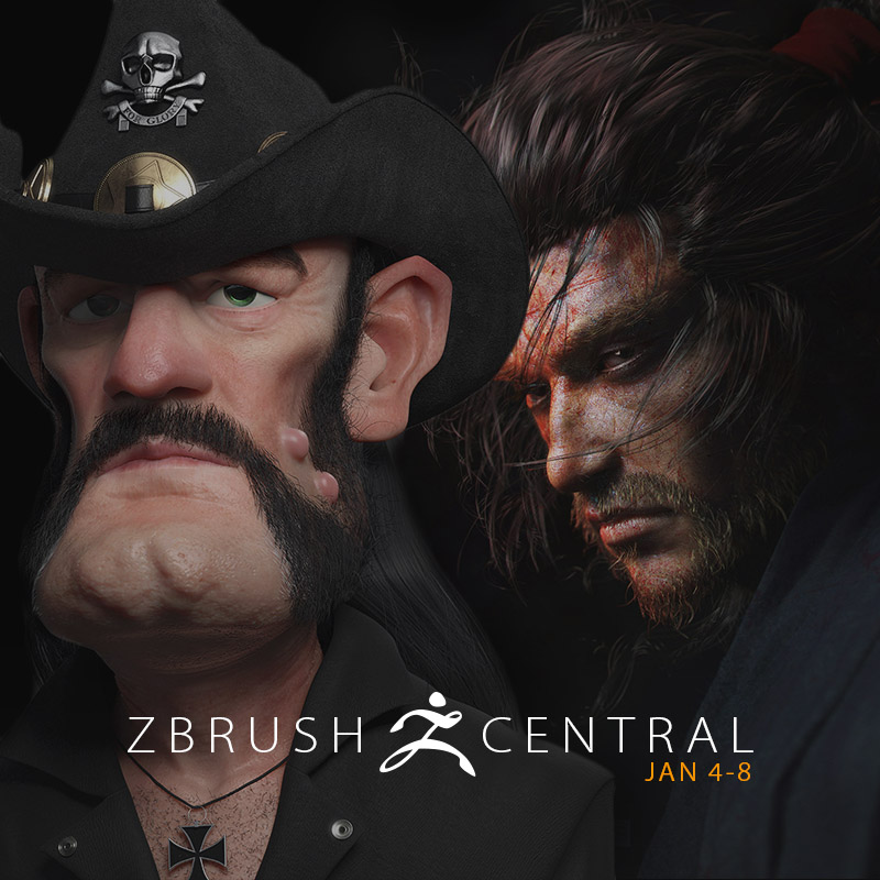 ZBrushCentral Highlights January 4-8