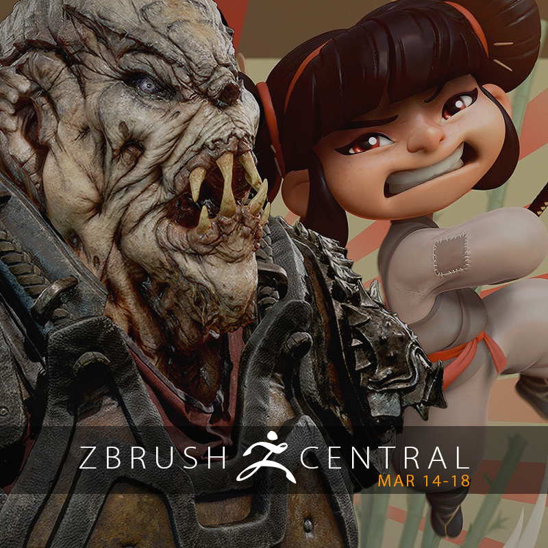ZBrushCentral Highlights March 14-18