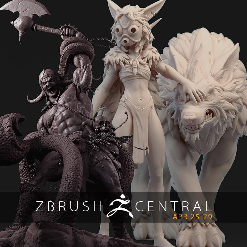 ZBrushCentral Highlights April 25-29