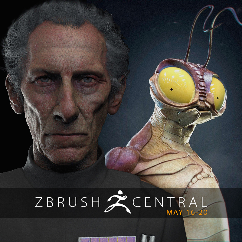 ZBrushCentral Highlights May 16-20