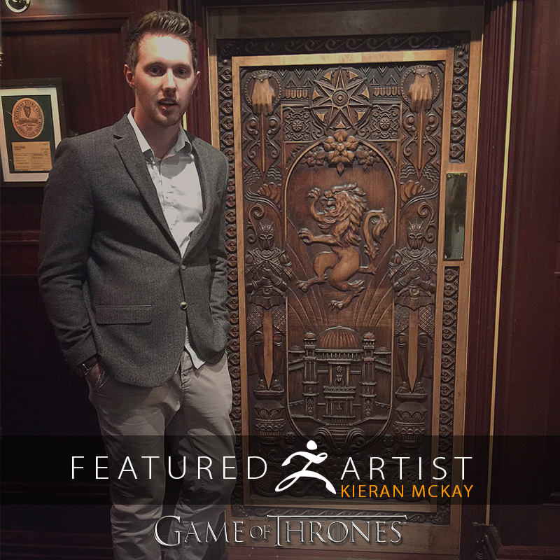 ZBrush Used to Create Beautiful Game of Thrones Doors