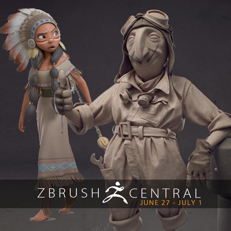 ZBrushCentral Highlights June 27-July 1
