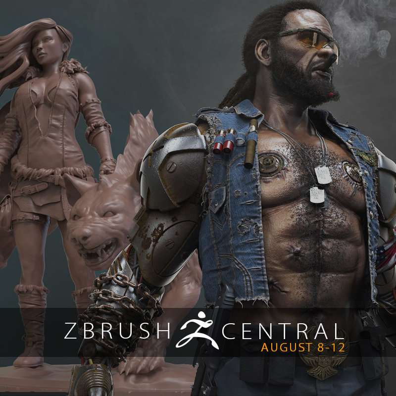 ZBrushCentral Highlights August 8-12