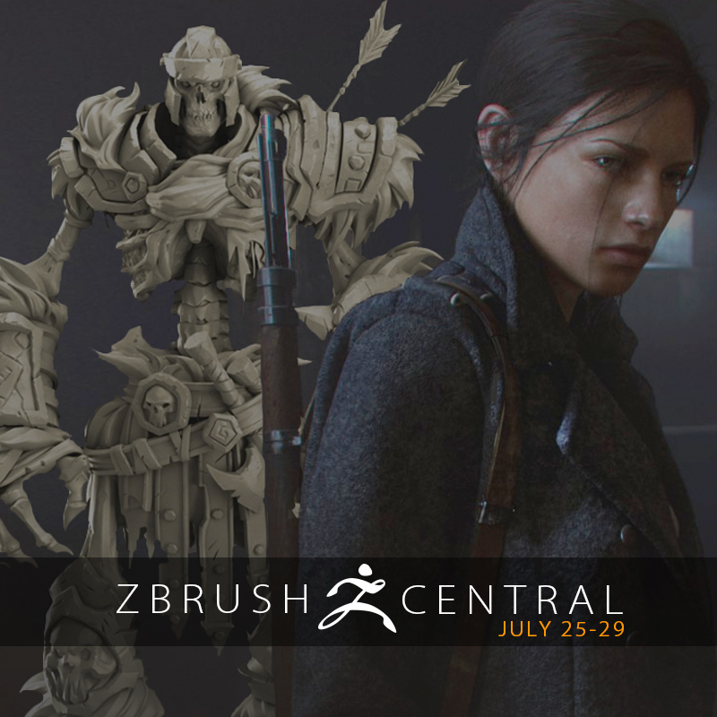 ZBrushCentral Highlights July 25-29
