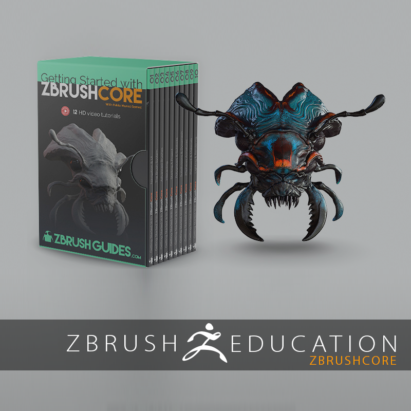 Getting Started with ZBrushCore Tutorial Now Available!