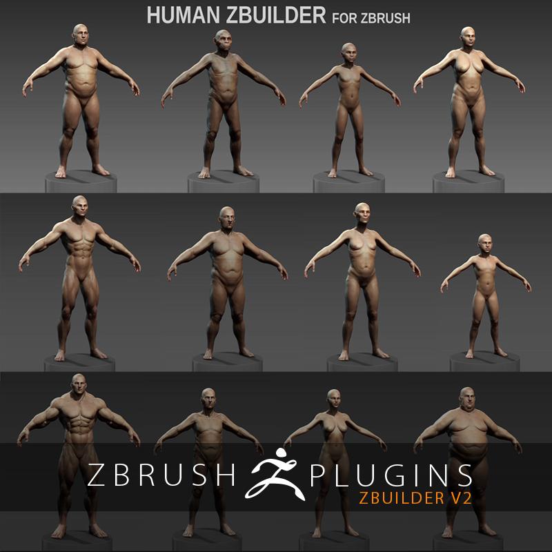 ZBuilder Plugin Simplifies Character Creation in ZBrush