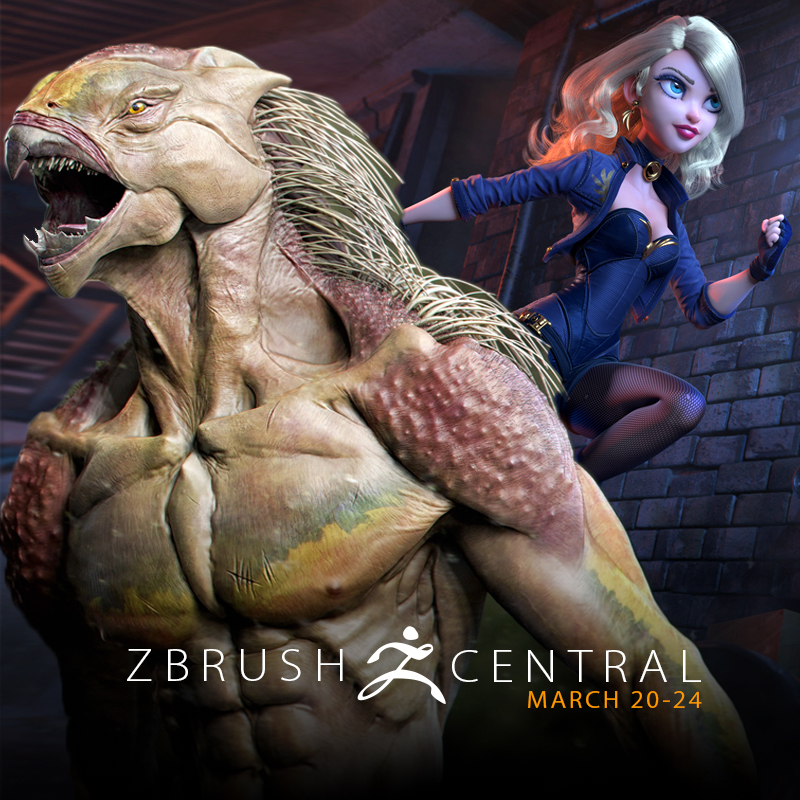 ZBrushCentral Highlights March 20-24