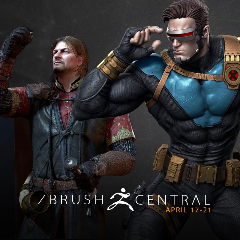 ZBrushCentral Highlights April 17-21