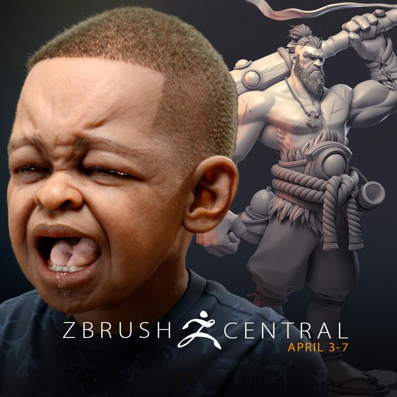 ZBrushCentral Highlights April 3-7