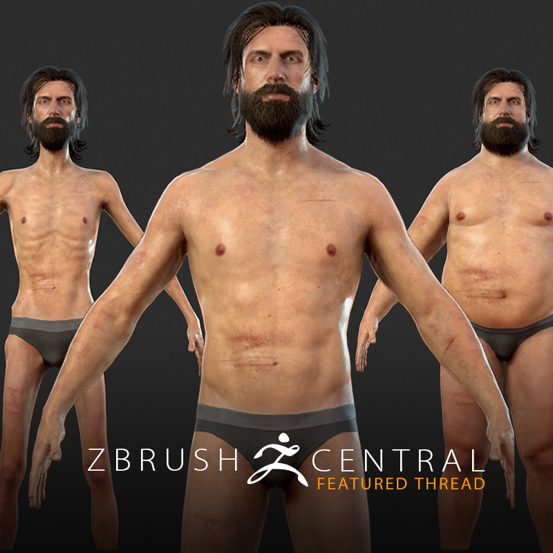 Penryn Games' Framshift Sports Character Models with Adjustable Body Types