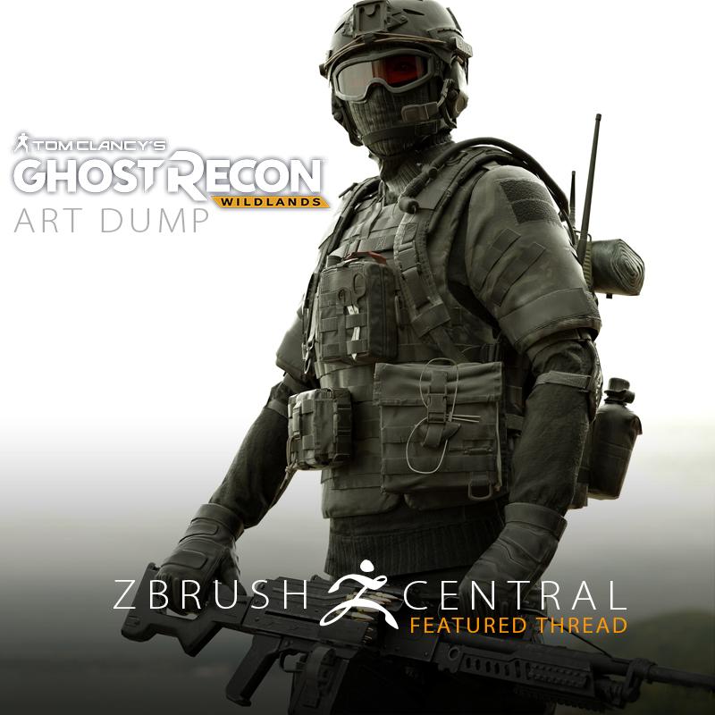 Ghost Recon Wildlands Art Dump
