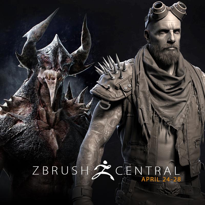 ZBrushCentral Highlights April 24-28