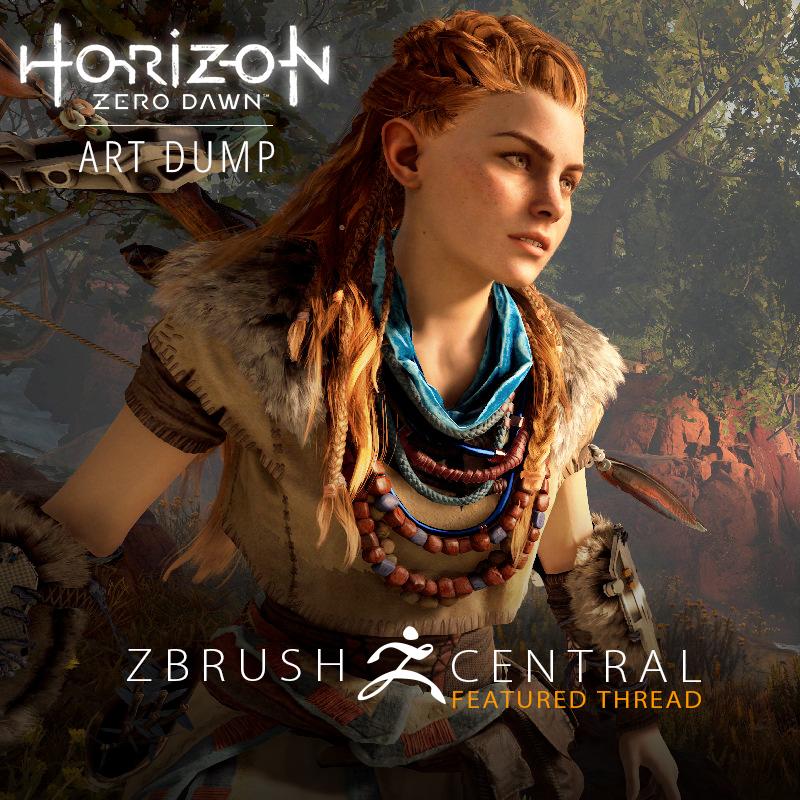 Horizon Zero Dawn Art Dump
