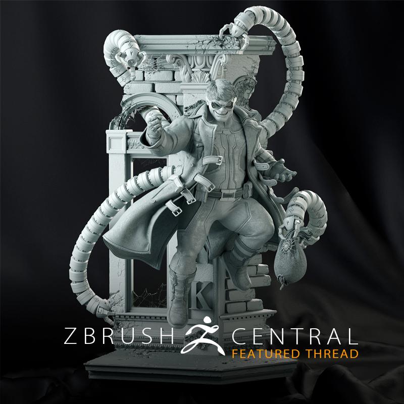 Doctor Octopus Statue for XM Studios