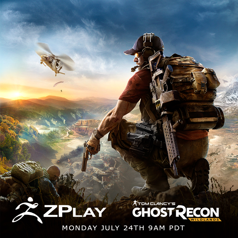 Ghost Recon Wildlands ZPlay Monday July 24th at 9:00 am PDT