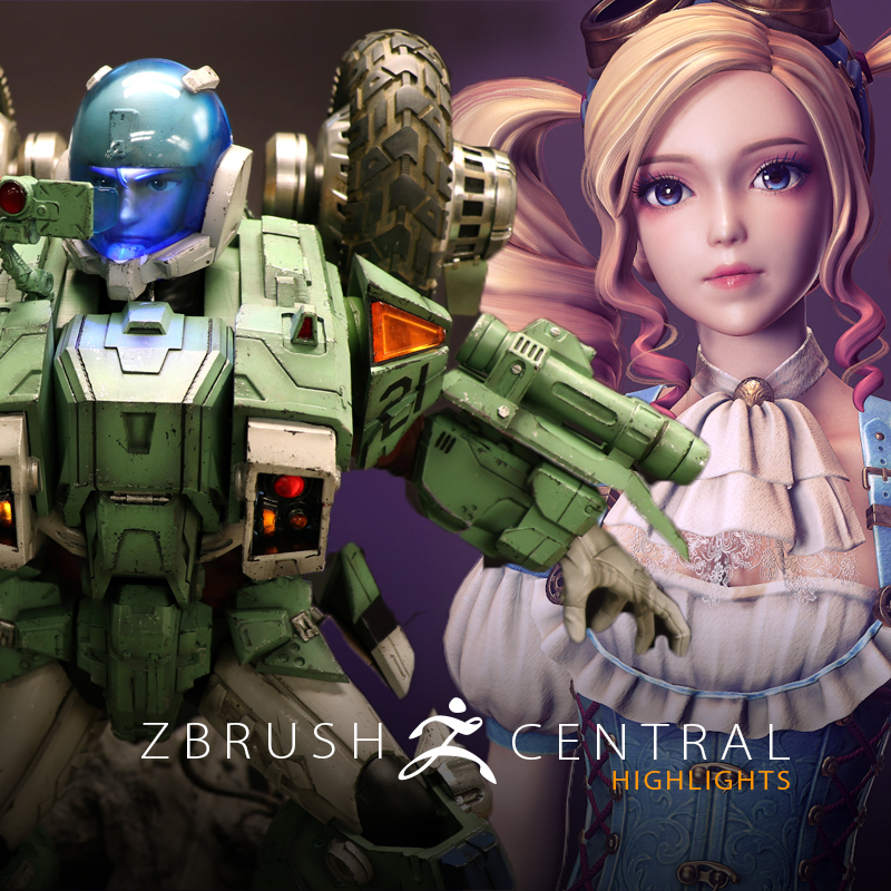ZBrushCentral Highlights