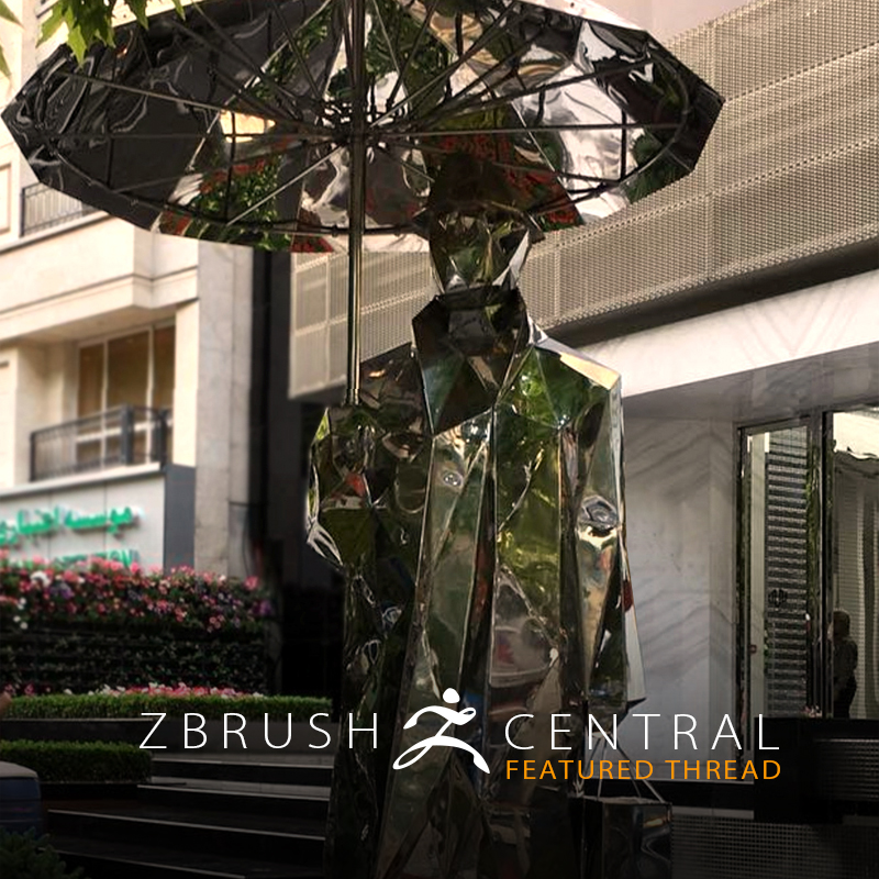 ZBrush Features Used to Create Art Installation