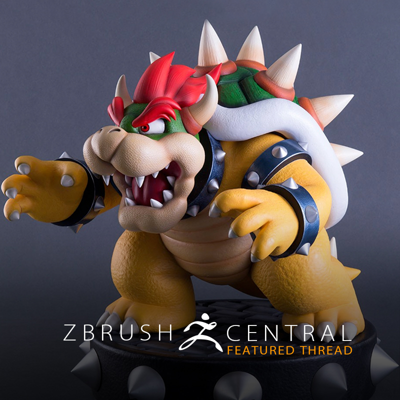 ZBrusher Sculpts 19″ Exclusive Nintendo Collectible