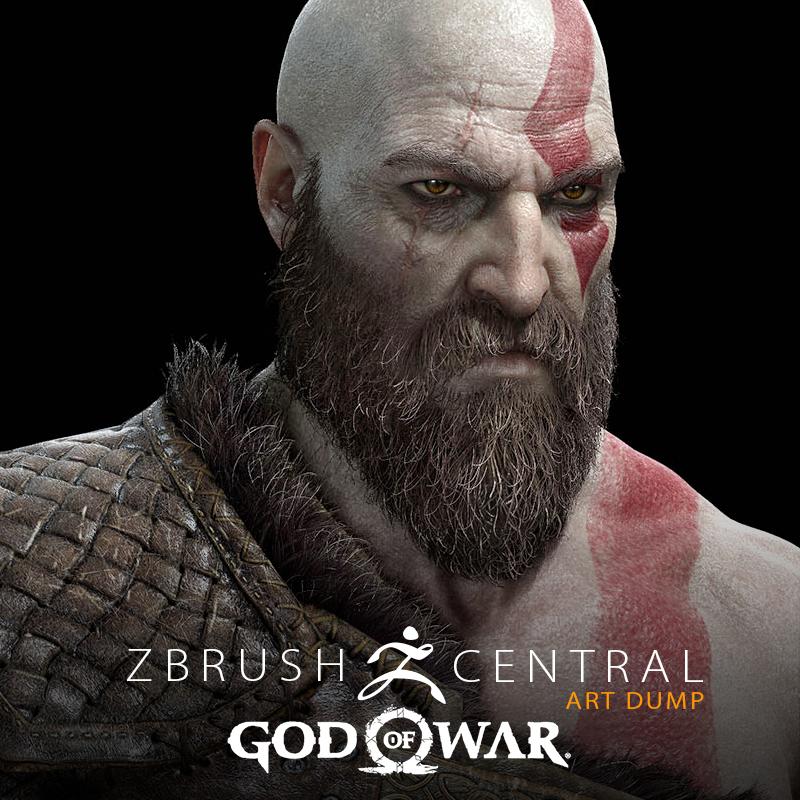 God of War Art Dump