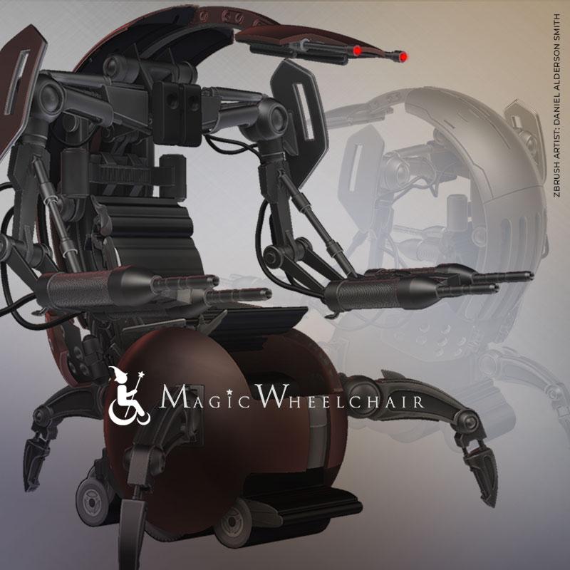 Magic Wheelchair Contest Winner Announced!