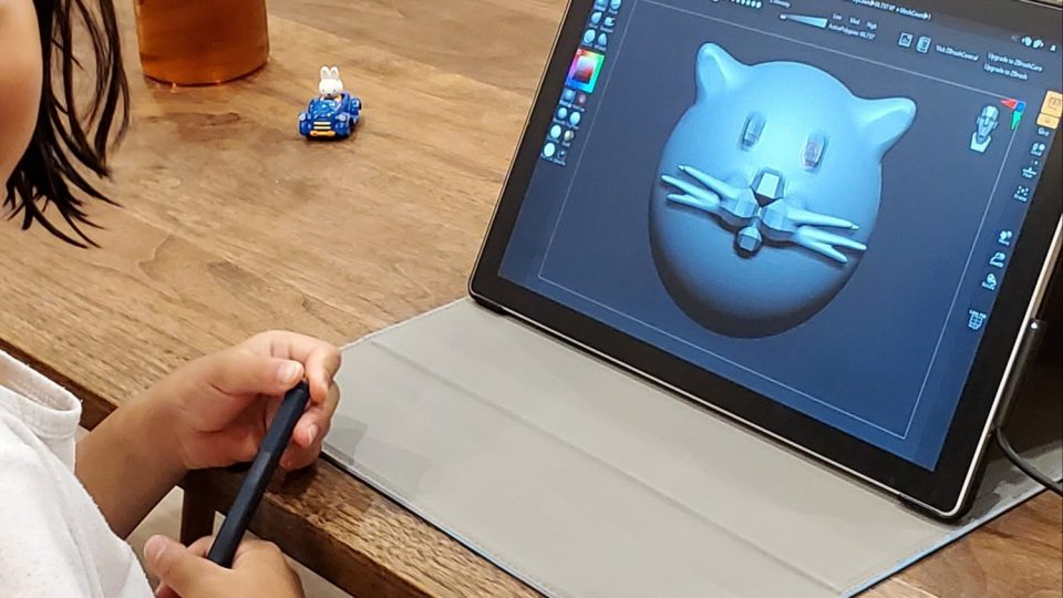 ZBrushCore Mini: So Easy, a 2nd Grader Can Use It!