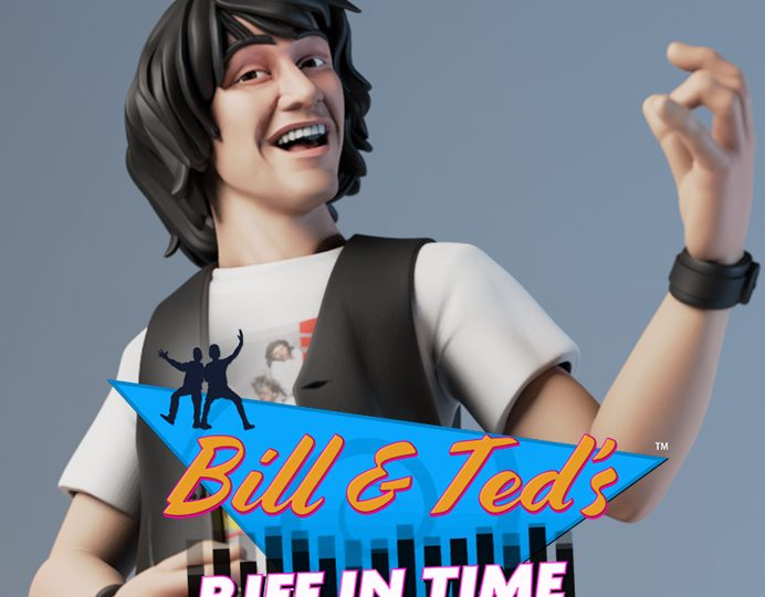 Bill and Ted – Riff in Time Game Sculpted by ZBrush Artist
