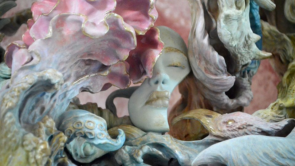 Artist Yuuki Morita gets his ZBrush-born Sculpture Displayed at The Louvre