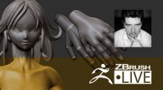 Figurine and 3D Printing with ZBrush #2 – Ninja Girl – Thomas Roussel