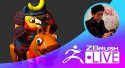 """Fukui Nobuaki – ZBrushCore 超入門講座 出張LIVE – Episode 7 """"ZBrushCoreからZBrush 2018へのアップグレード! """""""