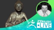 ZBrush 2018 – Buddha: From my 3D scanned son to 3D Printing – Part 1 – Thomas Roussel
