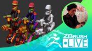 Fukui Nobuaki – ZBrush 超入門講座 出張LIVE – Episode 9 ZBrushCoreからZBrushへのアップグレード!キャラクターモデリング編
