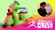 [日本語] ZBrush 超入門講座 出張LIVE – Fukui Nobuaki – Episode 10