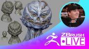 "Creature Sculpting & Exploration of Forms – Brett Briley ""Spark"" – Episode 11"