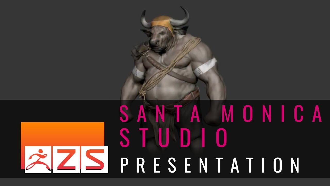 Creating Modular Architectural Assets Using ZBrush with Santa Monica Studio
