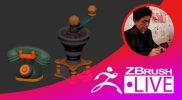 ZBrush 超入門講座 出張LIVE – Fukui Nobuaki – Episode 11
