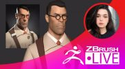 Character Sculpting – From Realistic to Stylized & Back – Donna Urdinov – Episode 7
