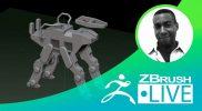 ZBrush for 2D Line Art & Illustration – Tony Leonard – Episode 24