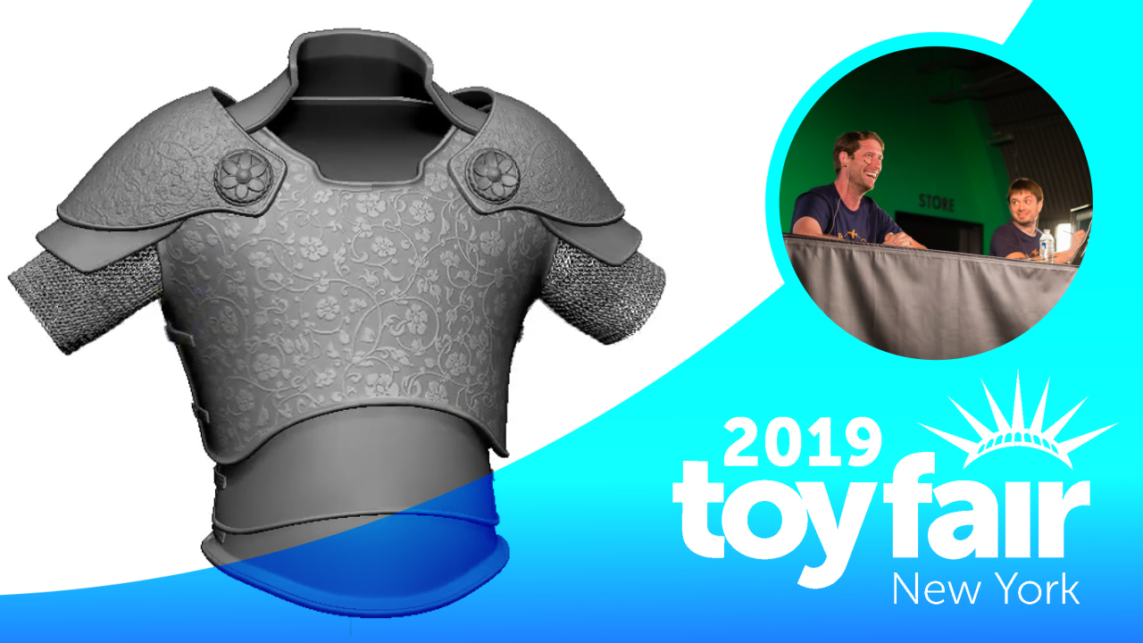 Live from Toy Fair 2019 – 3D Modeling for Toy Design with