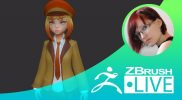 Создание стилизованных персонажей – Olya Anufrieva – Episode 1