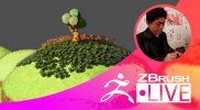 ZBrushCore 超入門講座 出張LIVE – Fukui Nobuaki – Episode 13