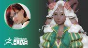 [RU] Создание стилизованных персонажей – Olya Anufrieva – Episode 6