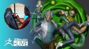 Mike T Artworks: Rick and Morty in Real Life Fan Art! – Mike Thompson – Episode 34