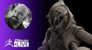 Creating on the Fly with ZBrush! – Miguel Guerrero – Episode 9